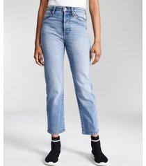 kendall + kylie juniors' straight-leg jeans
