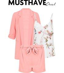 musthave deal pak bloemen roze