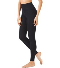 warner's cloud 9 seriously soft fleece-lined footless tights
