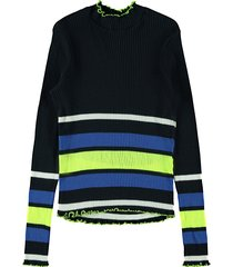 name it pullover 13174314 nlfbroke blauw
