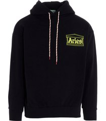aries hands off sweatshirt