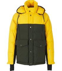 padded bicoloured jacket