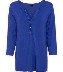 maglia con paillettes (blu) - bodyflirt