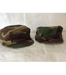 camouflage hats camo hat size small lot of 2 hats mitary style