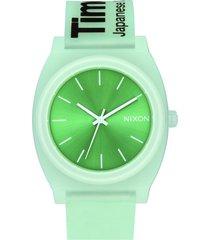 reloj time teller p verde nixon