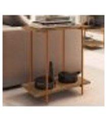 mesa lateral para sofa 27869 linha tube vermont cobre artesano