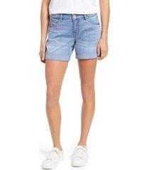 women's jag jeans alex denim boyfriend shorts, size 4 - blue