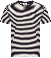 short-sleeved t-shirt héritage t-shirts short-sleeved blå armor lux
