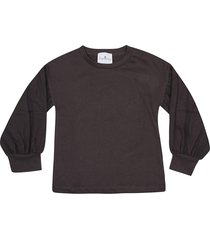 le petit coco fitted cuffs long sleeve t-shirt