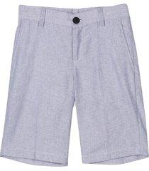 hugo boss grey bermuda shorts