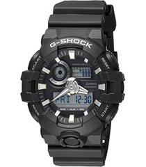 reloj g shock ga_700_1b negro resina