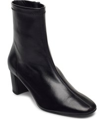 light shoes boots ankle boots ankle boot - heel svart notabene