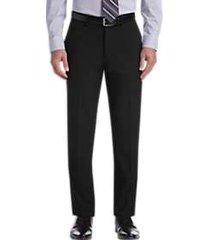 haggar j.m. haggar premium black 4-way stretch slim fit dress pants