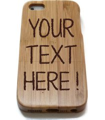customize personalized wooden wood bamboo phone case for iphone 7 6 6s plus skin