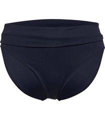 retro roll top pant bikinitrosa blå seafolly