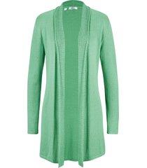 cardigan lungo (verde) - bpc bonprix collection