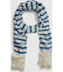 lane bryant women's nautical striped scarf no white