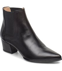 juanin_vu shoes boots ankle boots ankle boot - heel svart unisa
