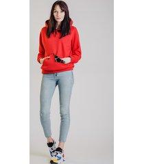 bluza hoodie fio kameleon - red