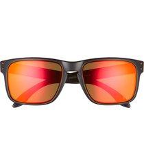 oakley holbrook 57mm sunglasses in red black at nordstrom