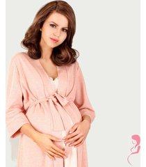 lupoline zwangerschapskamerjas pastel pink