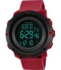 reloj mujer sven 362 digital - rojo