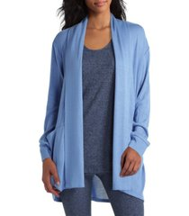 women's long sleeve drape front cardigan