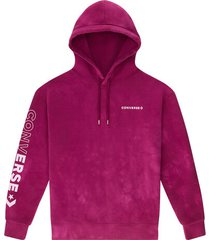 fleece pullover hoodie