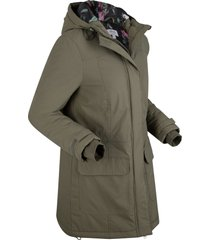 parka outdoor maite kelly (verde) - bpc bonprix collection