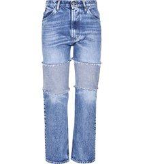 maison margiela classic frayed jeans