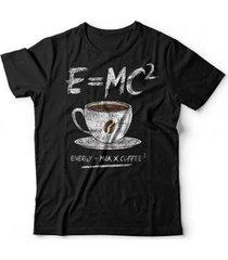 camiseta coffee energy formula - unissex