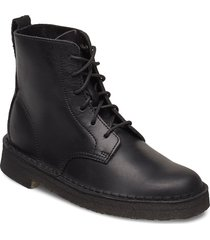 desert mali. shoes boots ankle boots ankle boot - flat svart clarks originals