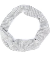bonpoint chunky knit scarf - grey