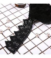 il vestito da costume da cucire del cuoio del nastro del merletto nero del merletto di 2m ha inizio