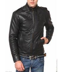 man black belted collar jacket, mens leather jacket, leather jackets for men