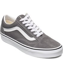 ua old skool låga sneakers grå vans