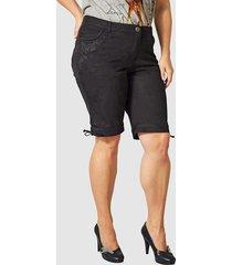 shorts med snörning nedtill janet & joyce svart