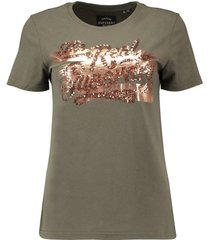 t-shirt the real foil groen