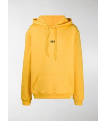 424 embroidered logo hoodie