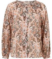 blus anna printed blouse