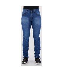 calça jeans ecko classic azul