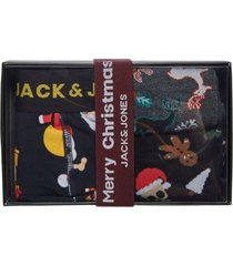 jack & jones santa xmas giftbox boxer & socks