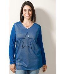 shirt miamoda royal blue