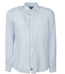 fay classic plain shirt