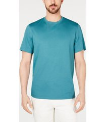 tasso elba men's supima blend crewneck short-sleeve t-shirt, created for macy's
