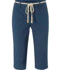 bermuda in twill con cordoncino (blu) - bpc bonprix collection