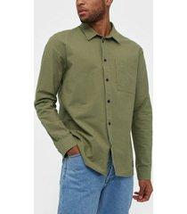 dr denim dale shirt skjortor emerald