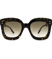 bottega veneta bottega veneta bv0238s havana sunglasses