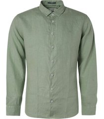 no excess shirt linen olive