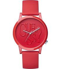 reloj hollywood westwood rojo guess